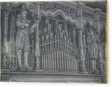 Vintage Melody Wood Print by Stewart Scott