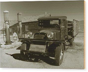 Old Truck 1927 - Vintage Photo Art Print Wood Print