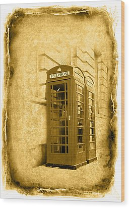 Vintage07 Wood Print by Svetlana Sewell