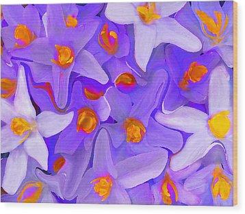 Viola Molti Wood Print by Robert OP Parrish