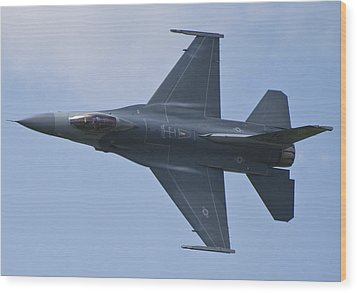 Viper West F16 Demo Team Wood Print