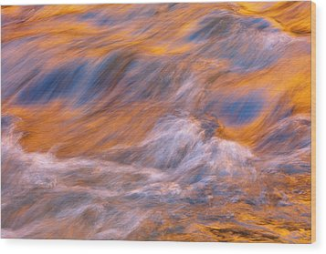 Wood Print featuring the photograph Virgin River Voodoo by Mike Lang