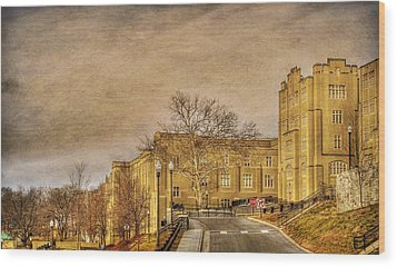 Virginia Military Institute Wood Print by Todd Hostetter