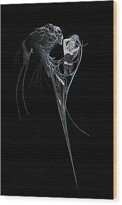 Virgo Wood Print by Viktor Savchenko