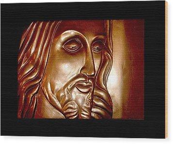 Virtue Wood Print by A Yasini