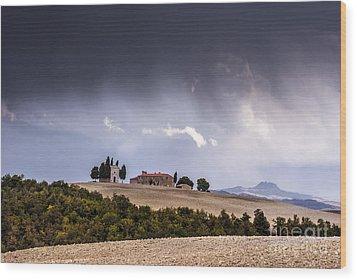 Vitaleta Chapel Wood Print