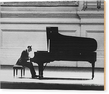 Vladimir Horowitz Wood Print by Granger