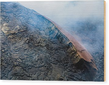 Wood Print featuring the photograph Volcanic Ridge by M G Whittingham