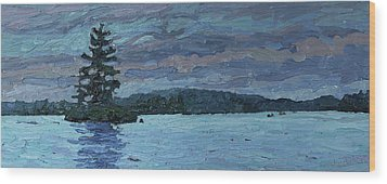 Voyageur Highway Wood Print by Phil Chadwick