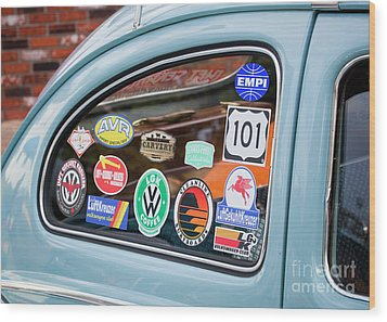 Wood Print featuring the photograph Vw Club by Chris Dutton
