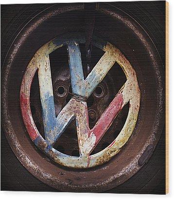 VW Wood Print by Joseph Skompski