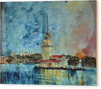 W 57 Istanbul Wood Print by Dogan Soysal