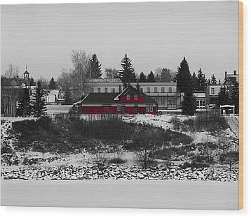 Wood Print featuring the photograph Heritage Park by Stuart Turnbull