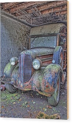 Waiting For A Part Wood Print by Jim Dohms