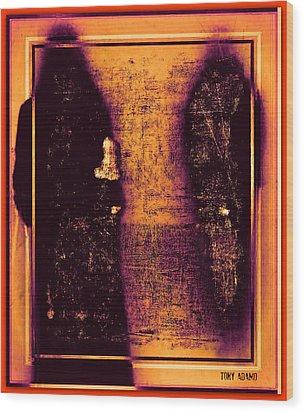 Walk With The Forbidden Wood Print by Tony Adamo
