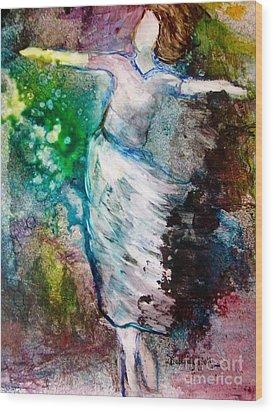 Walking In The Spirit Wood Print