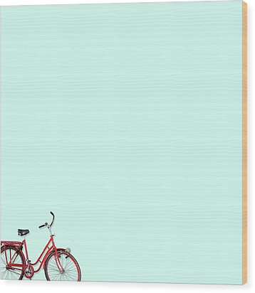Wall Bici Wood Print