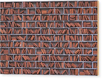Wall Wood Print by Jan Rockar