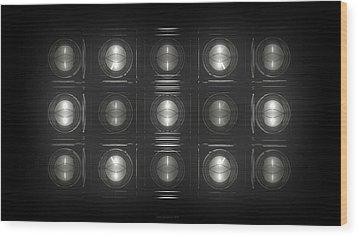 Wall Of Roundels - 5x3 Wood Print