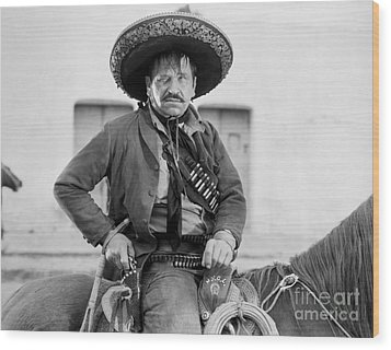 Wallace Beery (1885-1949) Wood Print by Granger