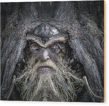 Wally Woodfury Wood Print