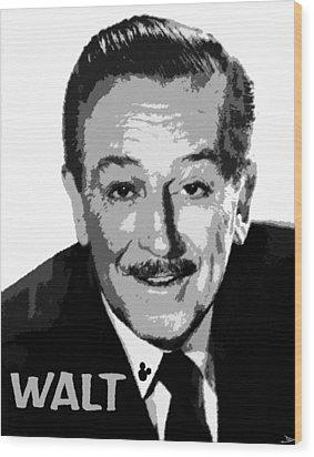 Walt Wood Print by David Lee Thompson