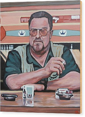 Walter Sobchak Wood Print by Tom Roderick