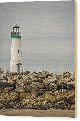 Walton Lighthouse Wood Print by James Hammond