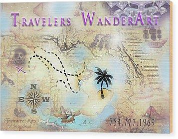 Wanderart Wood Print