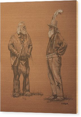 Wanna Buy A Hat? Wood Print