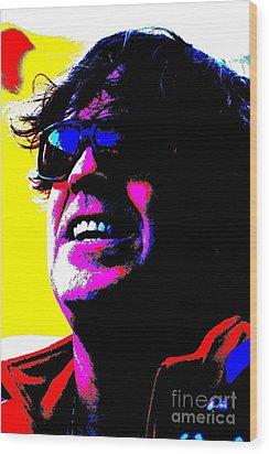 Warhol Robbie Wood Print