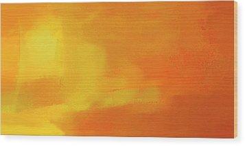 Wood Print featuring the digital art Warm Moment by John Hansen