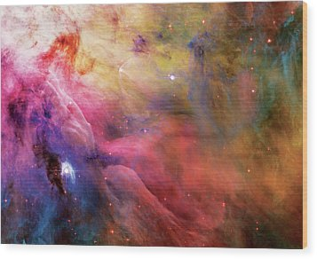 Warmth - Orion Nebula Wood Print