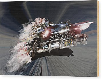 Wood Print featuring the photograph Warp Speed by Christopher Woods