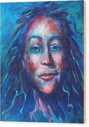 Warrior Goddess Wood Print
