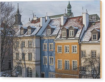Wood Print featuring the photograph Warsaw, Poland by Juli Scalzi