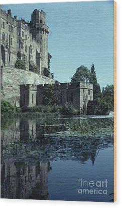 Warwick Castle Wood Print by David Pettit