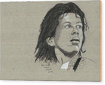 Warwick Davis Wood Print