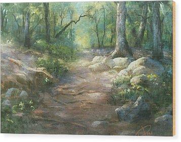 Warwick Woods Wood Print