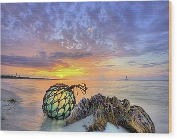 Wood Print featuring the photograph Washed Up In Pensacola Beach by JC Findley