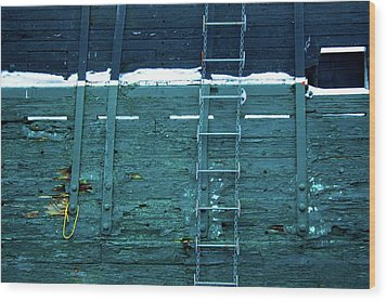 Washingon Yellow Rope Wood Print