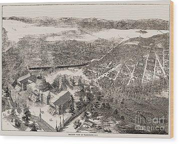 Washington, D.c., 1861 Wood Print by Granger