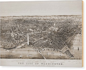 Washington D.c., 1892 Wood Print by Granger