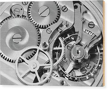 Watch Works Wood Print