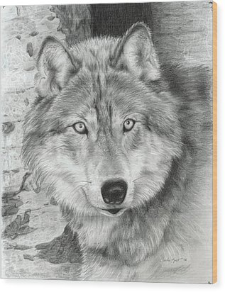 Watchful Eyes Wood Print
