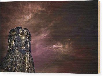 Watchtower Wood Print by Evelina Kremsdorf