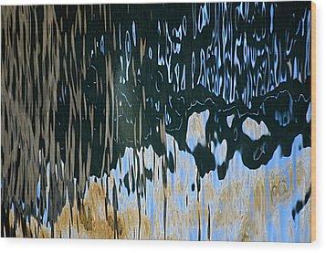 Water 1 Belmar Wood Print