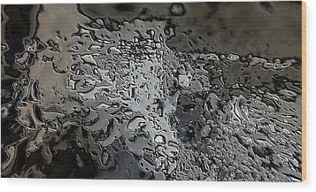 Water Abstract 7 Wood Print