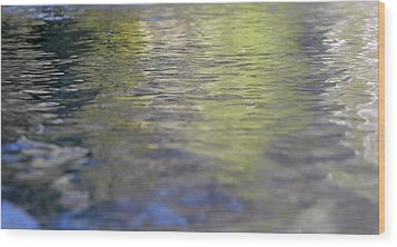 Water Colours Wood Print
