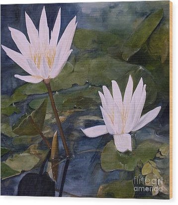 Water Lily At Longwood Gardens Wood Print